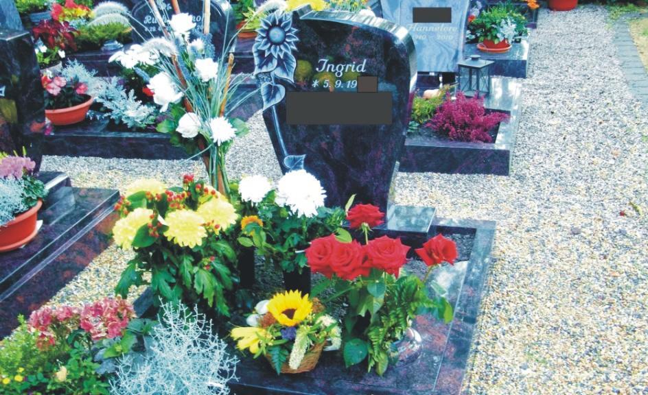 """Steinmetz Grabsteine aus Magdeburg - die würdevolle Alternative zur """"Grüne-Wiese-Bestattung"""""""